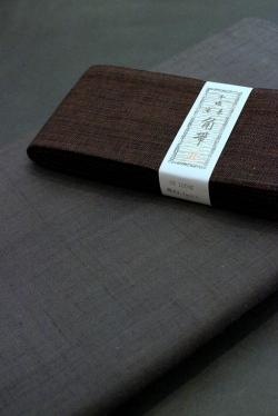 草木染手織り紬/紳士物
